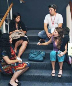 Vanessa and friends at TEDxSanAntonio