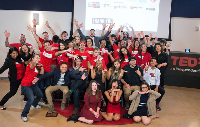 TEDxYouth@SanAntonio Nov 2015 Group Photo