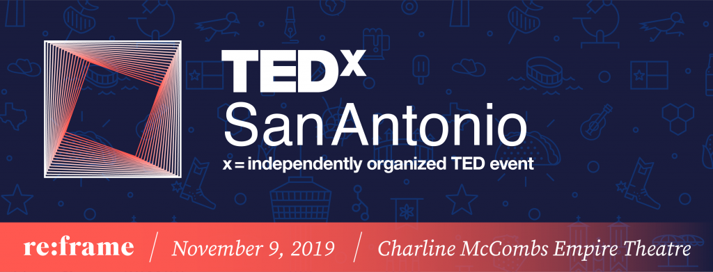 TEDxSA 2019 Fall Banner